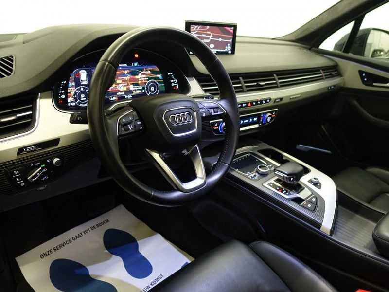 Audi Q7 3.0 TDI e-tron 374pk Quattro Sport S-Line Aut- Panodak, Bose, Leer, Camera, Virtual Cockpit afbeelding 3