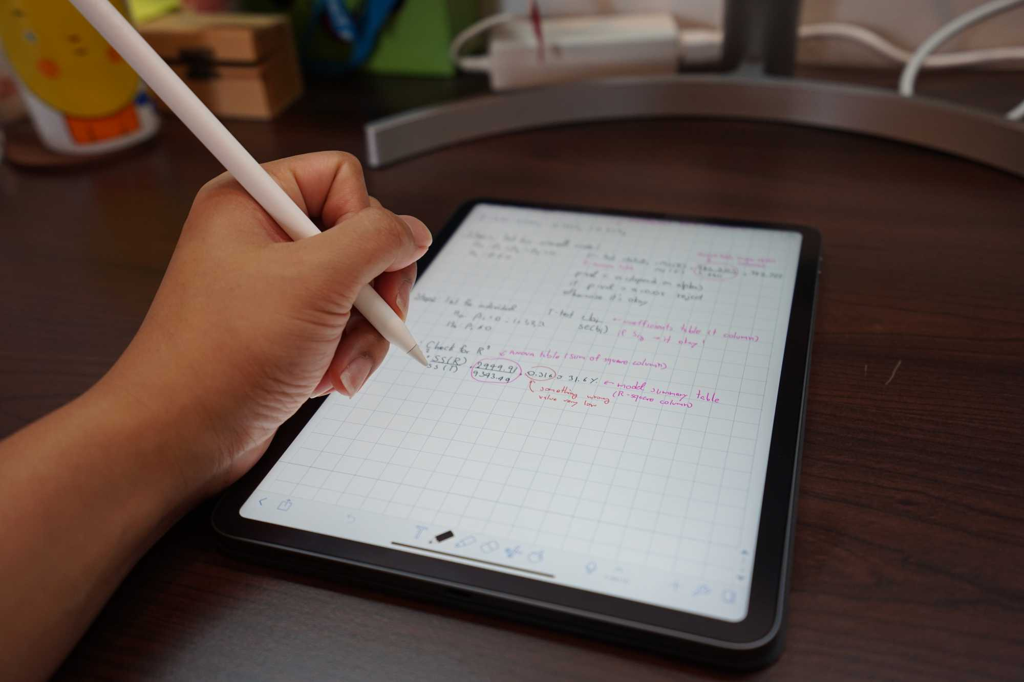iPad Pro 11-inch with Notability App