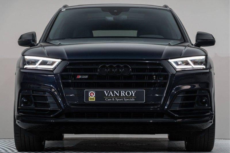 "Audi SQ5 3.0 TDI 347pk Quattro Black Edition Panoramadak Luchtvering Valconaleder B&O Keyless ACC Navi-High Matrix Camera 21""Performance Pdc Verlengde fabrieksgarantie afbeelding 11"