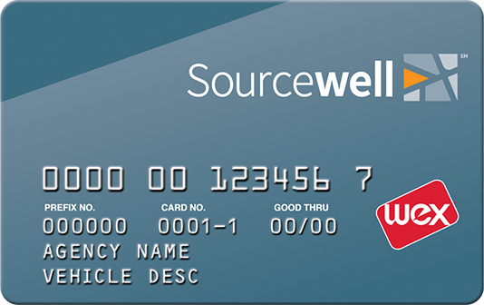 Wex sourcewell fleet card