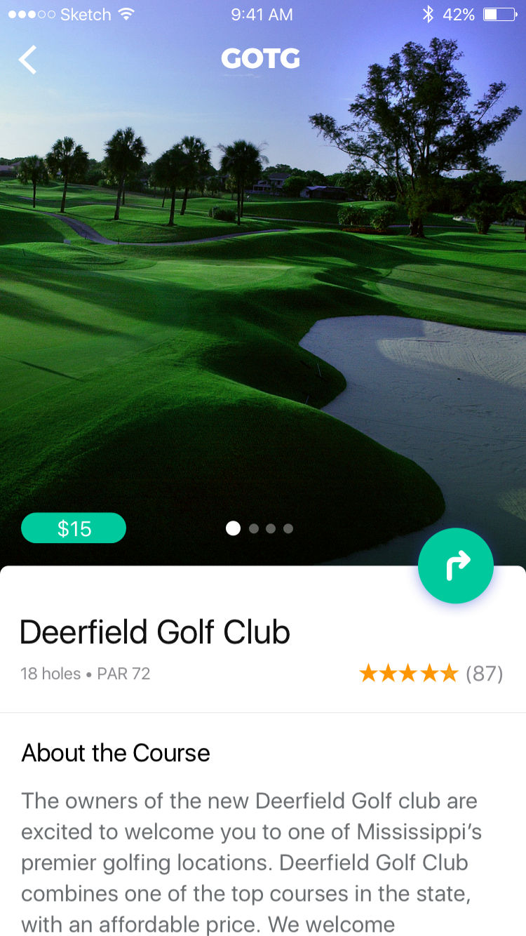 Deerfield Country Club in Golf on the Go
