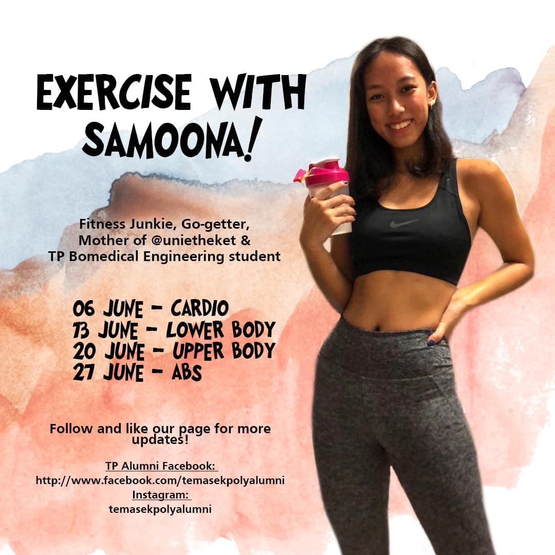 Exercise with Samoona
