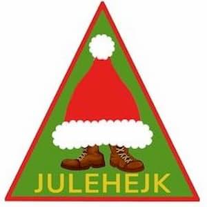 Julehejk spejdermærke