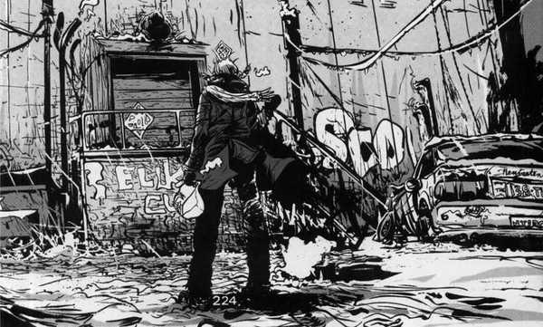 """Futuro sujo em preto e branco na HQ """"100%"""" de Paul Pode para Vertigo"""
