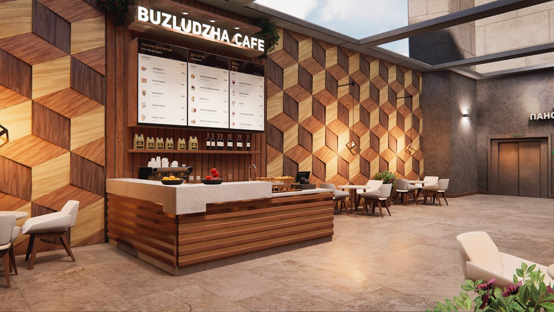 hospitality and retail visualisation in unreal engine