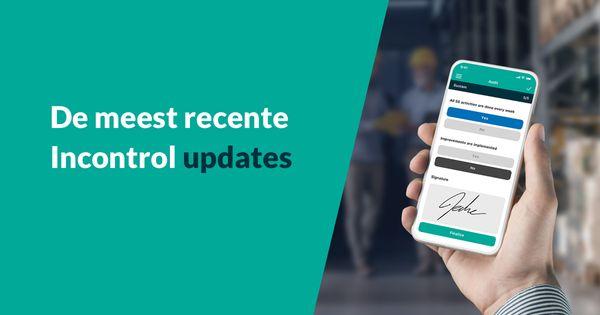 Ken jij deze updates van Incontrol?