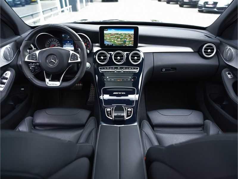 Mercedes-Benz C-Klasse C63 T AMG Perf-Uitlaat Pano Burmester Comfort-Memo HUD Rij-Ast TopView Keyless afbeelding 5