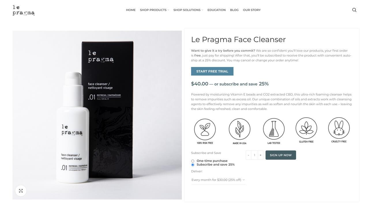Le Pragma website