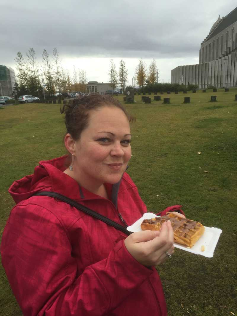 Waffles in Iceland