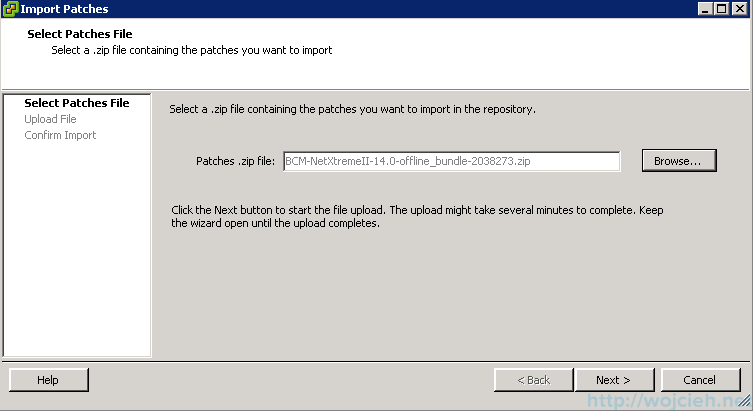 Emergency patching 3