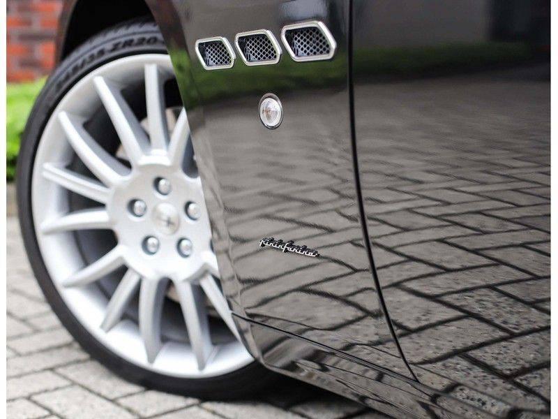 Maserati GranCabrio 4.7S *Grigio Maratta*Bose*Nieuwstaat!* afbeelding 12