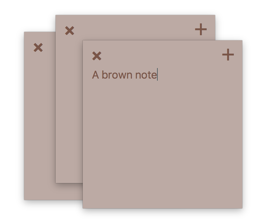 Brown Note.