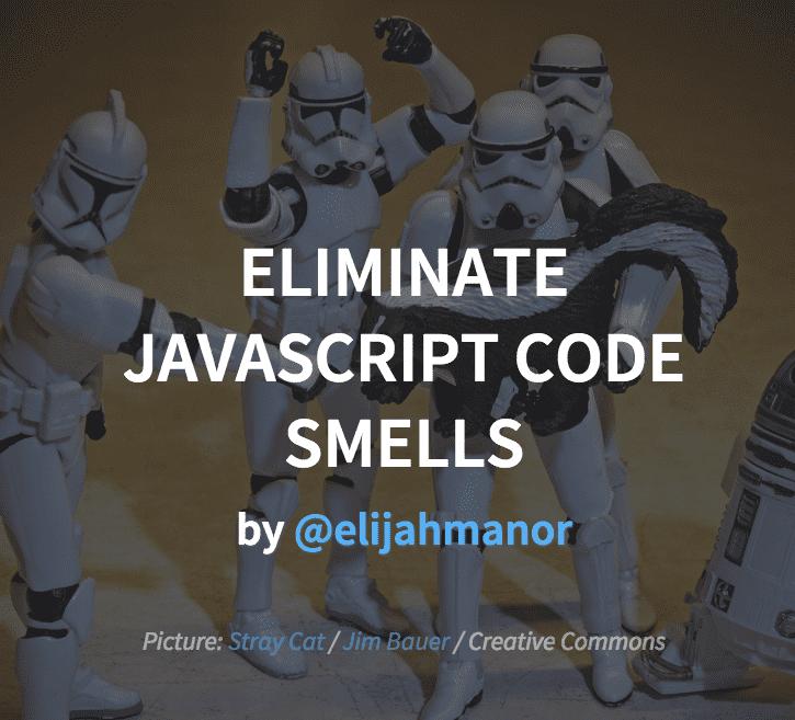 js code smells cover