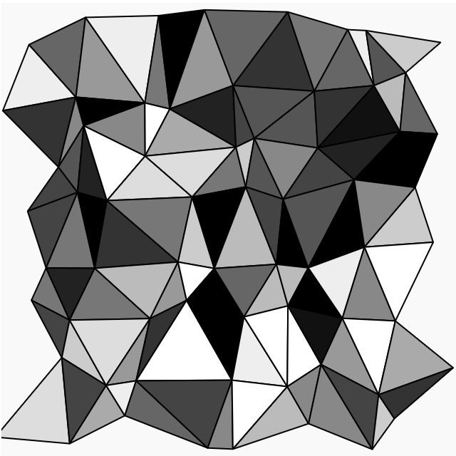 Triangular Mesh on Generative Artistry