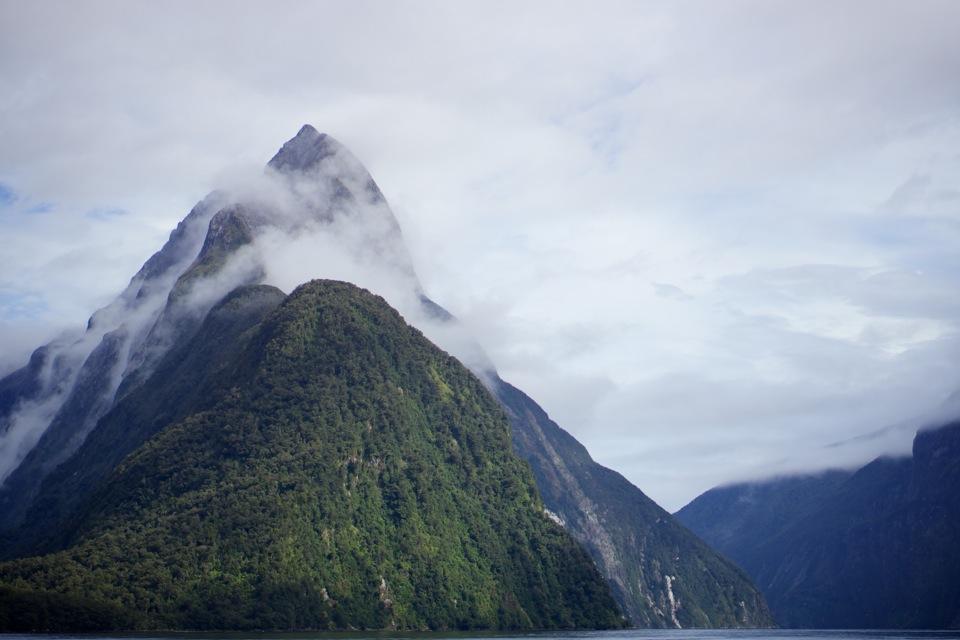 Mitre Peak at Milford Sound