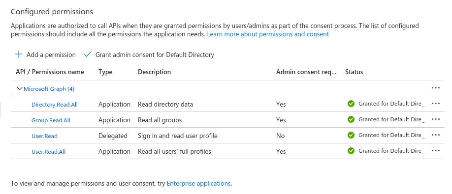 Azure add group membership claims