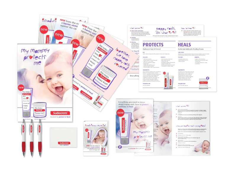 sudocrem print advertisements and merch