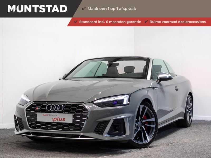 Audi A5 Cabriolet 3.0 TFSI S5 quattro | 354 PK | B&O sound | Assistentiepakket Tour & Parking | Camera | Massage stoelen | Garantie tot 06-2025*