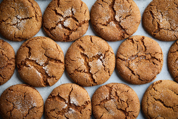 Ginger Spiced Molasses Cookies