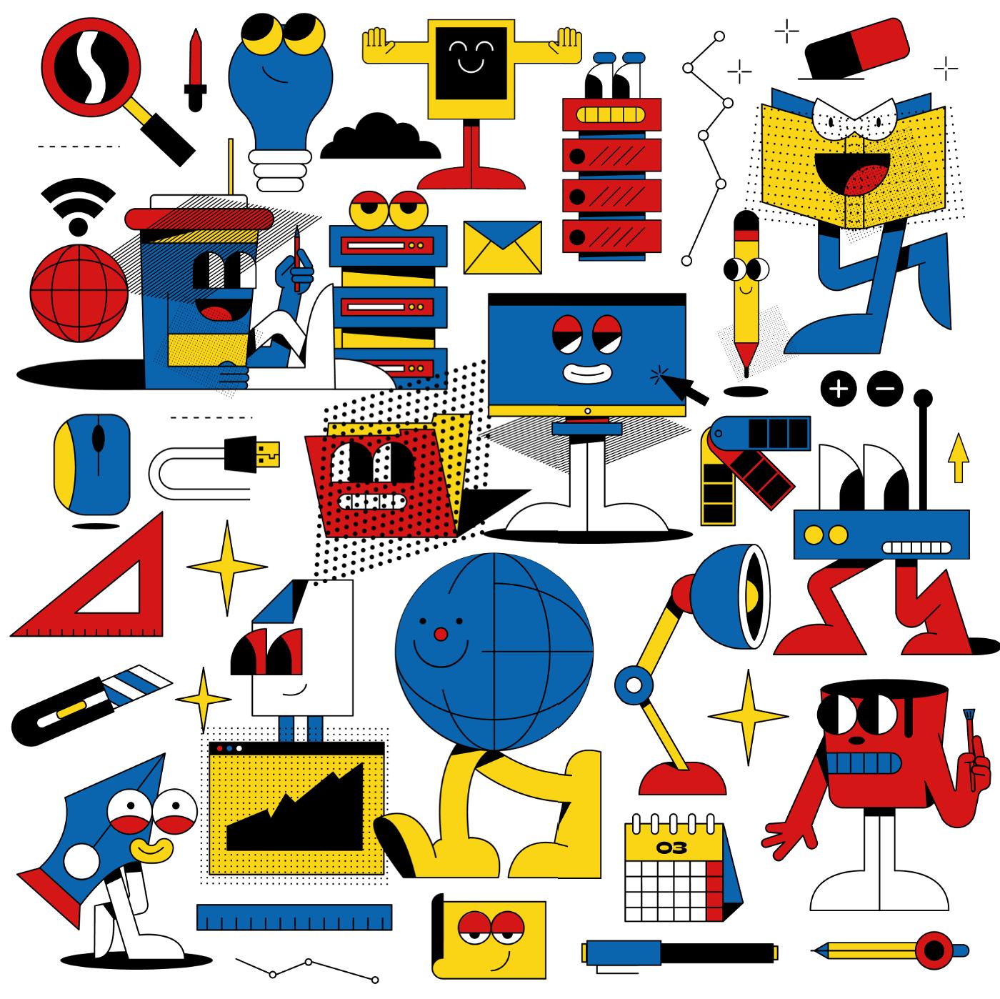 Aesthetic's Illustration 04-illustration-style