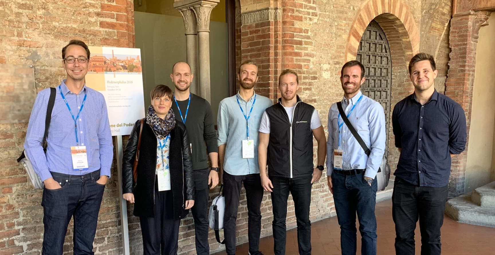 The group at ISHCSF 2018.