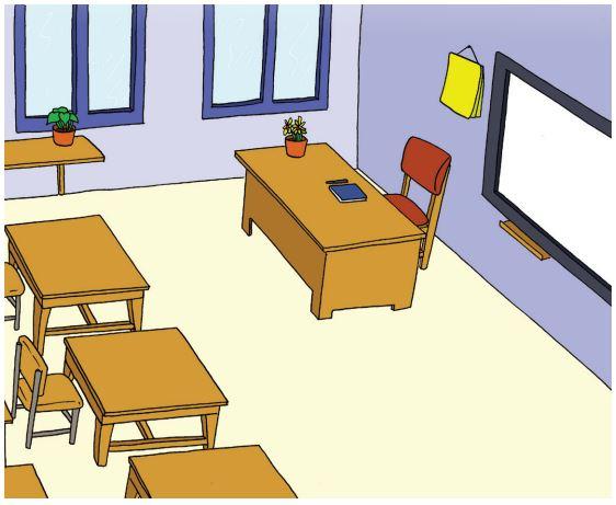 Gambar Mengamati Ruangan Kelas