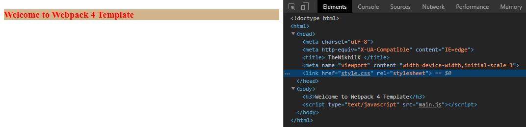 CSS merge