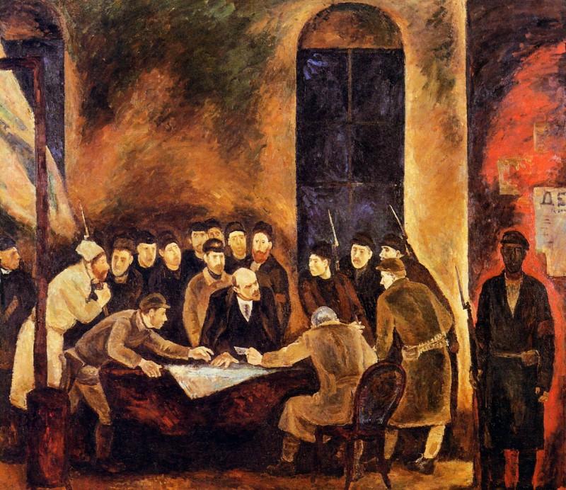 Павел Никонов «Октябрь», 1955–1956