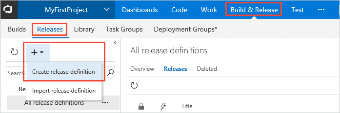 Release from release page