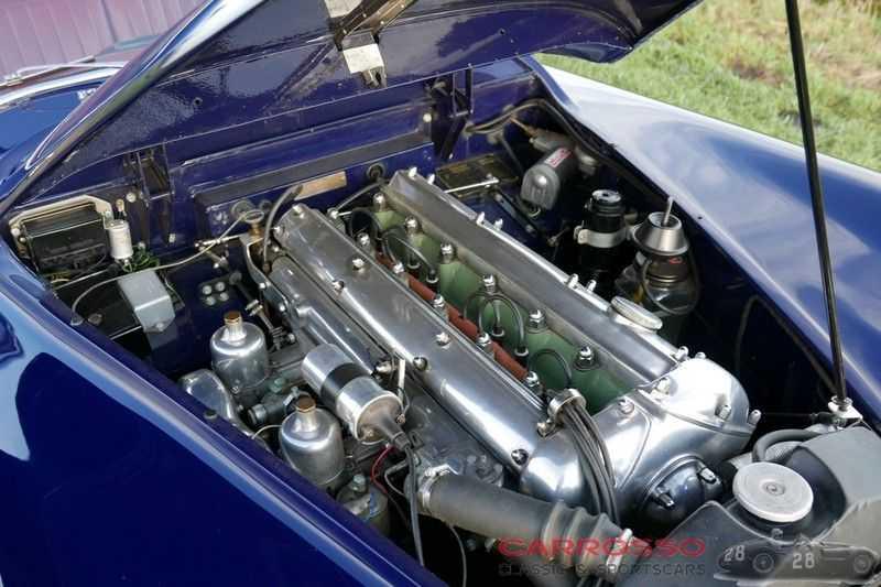 Jaguar XK 140 3.4 SE FHC / Nr. 28 of 8937 ! / Getrag gearbox afbeelding 25