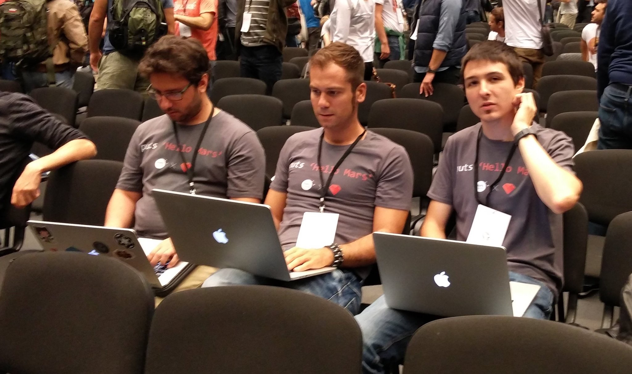 MarsBased team at Euruko 2016