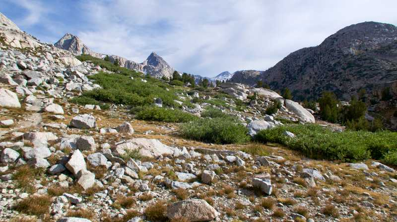 A climb on the PCT and JMT