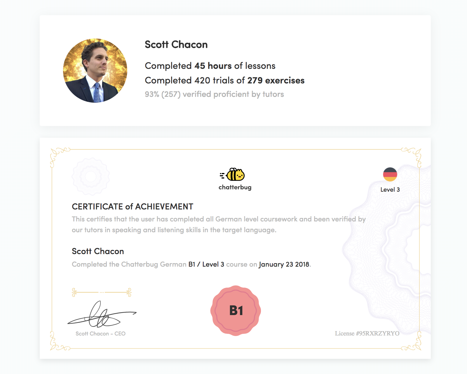 New Chatterbug Features Goals Certifications And Audio Chatterbug