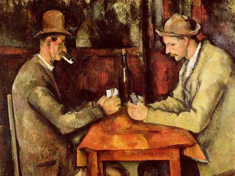 Cezanne's Card Players, a simple painting of Provencal farmhands, sold for a world-record price of $259 million in 2011