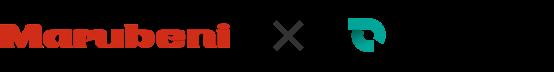 Marubeni × SmartDrive ロゴ
