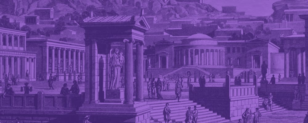 image of ancient greek city