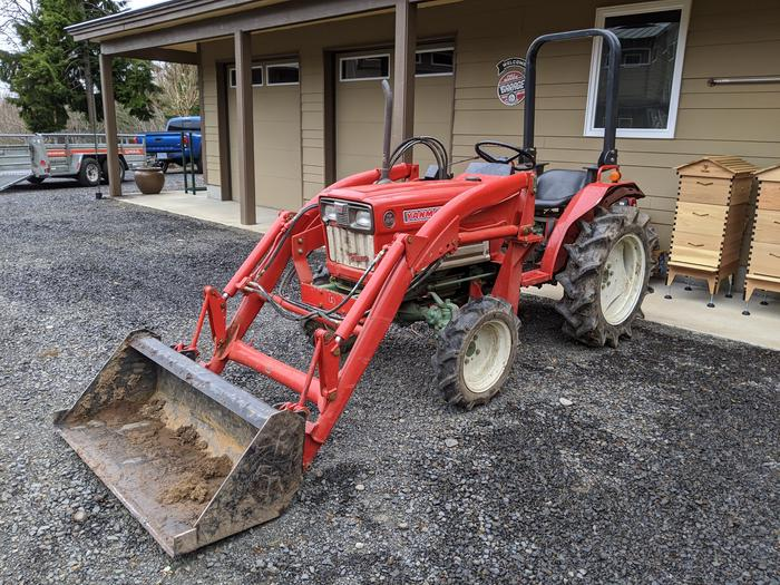 Yanmar Tractor Unloaded