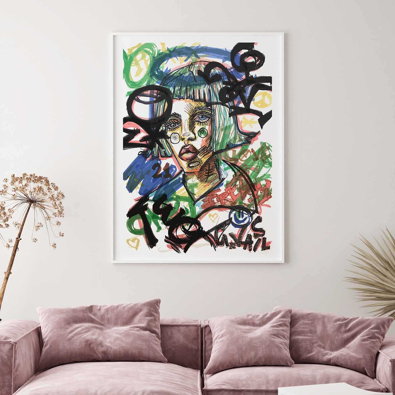 'Inside The Mind' Giclée Art Print