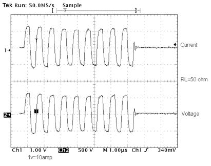 High-Power UT Instrumentation 8kW pulser at 1.5Mhz