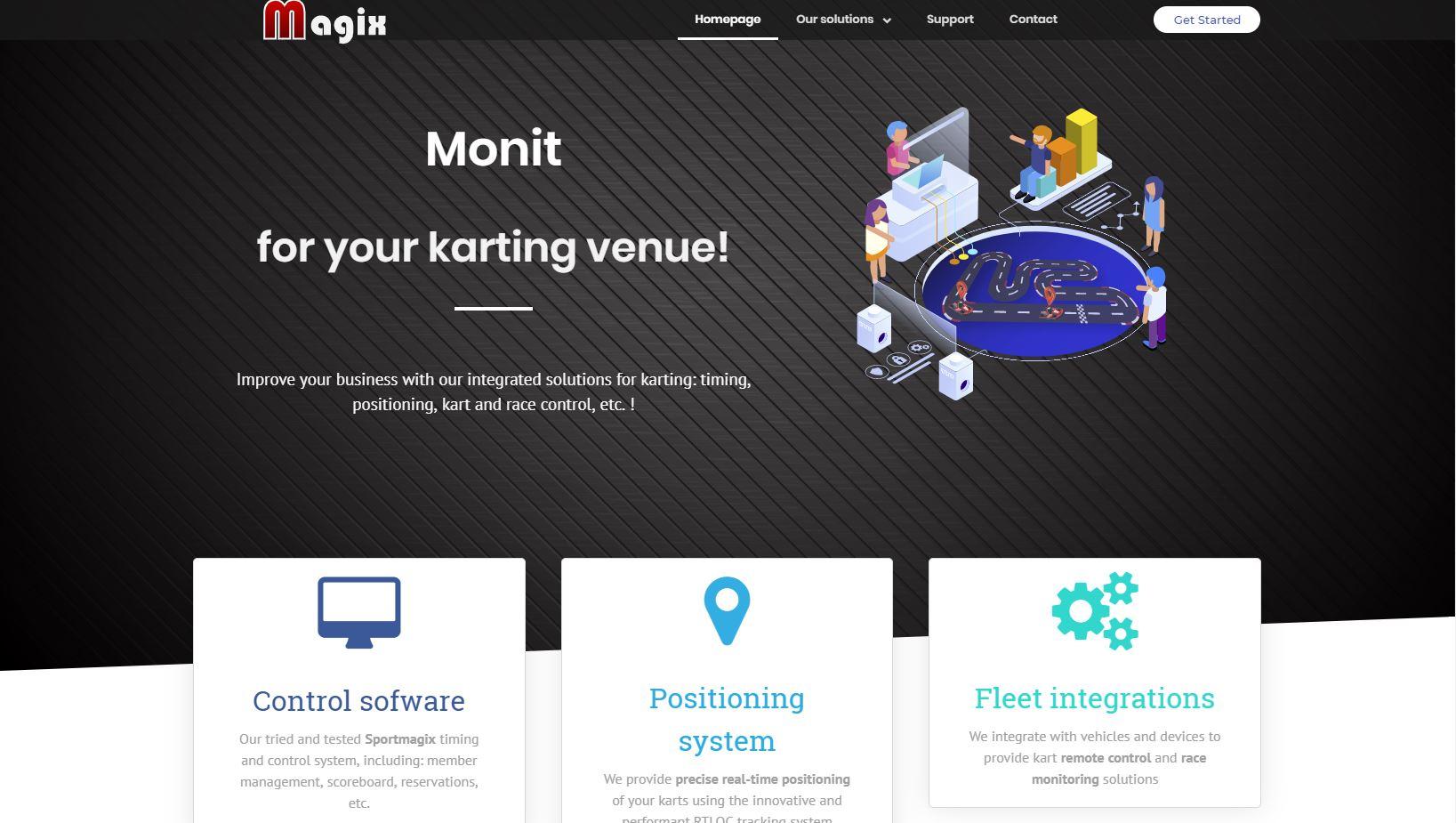 Karting website