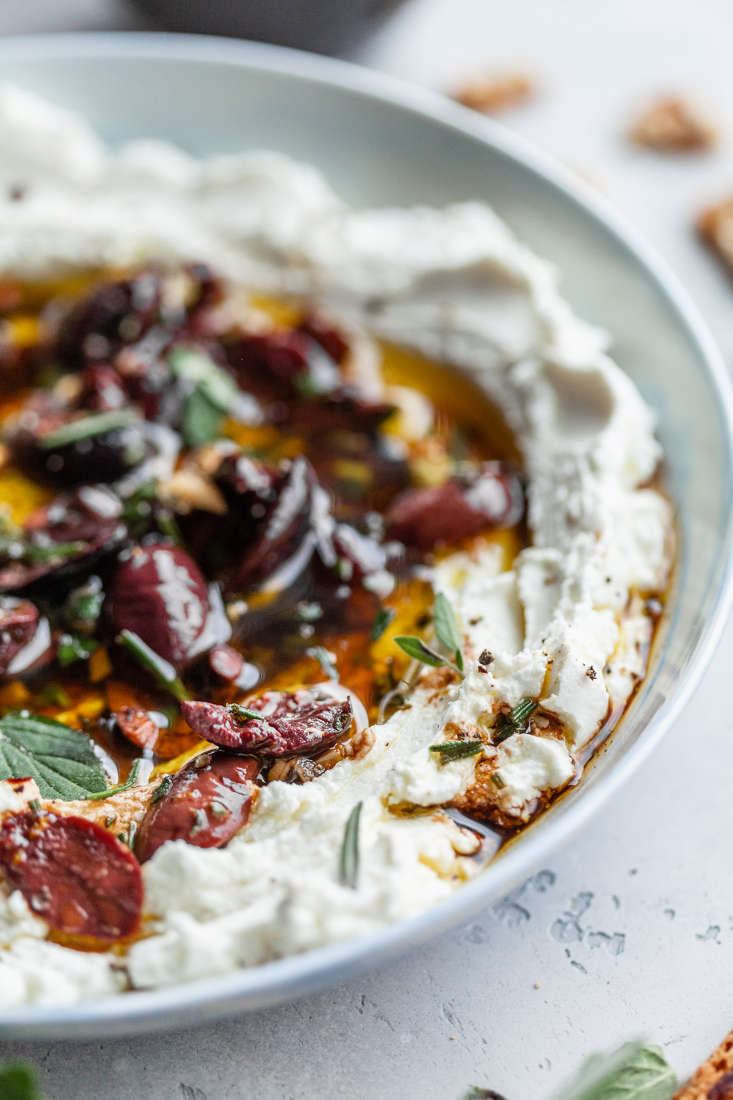 Marinated Goat Cheese Spread