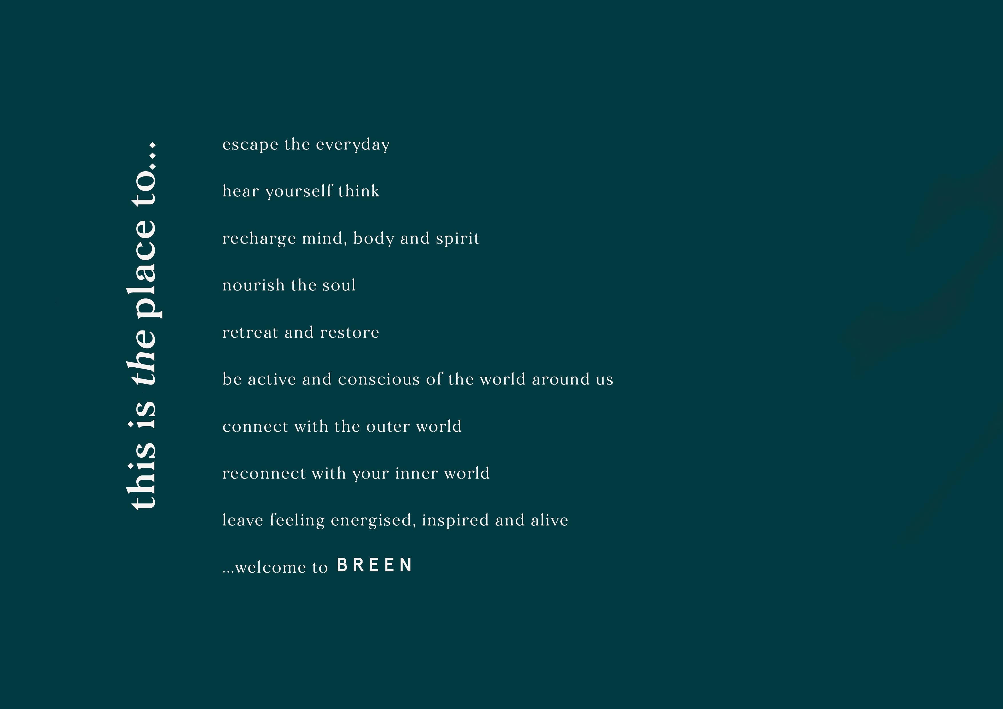 Manifesto by Jack Watkins, for Geirangerfjord hotel, BREEN