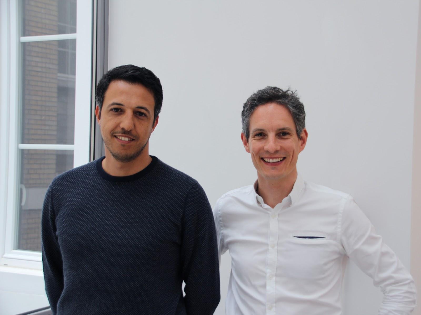 Mohamed Tazi et Sébastien Béquart, fondateurs de Gymlib