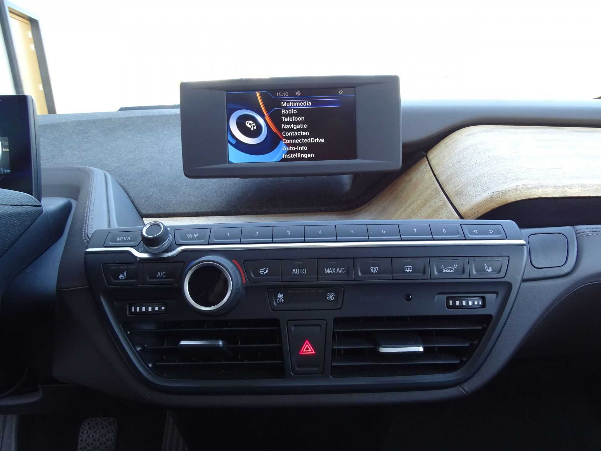 BMW i3 Basis Comfort Advance 22 kWh Marge Warmtepomp Navigatie Clima Cruise Panorama afbeelding 15