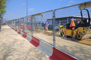 MASS barriers with fence