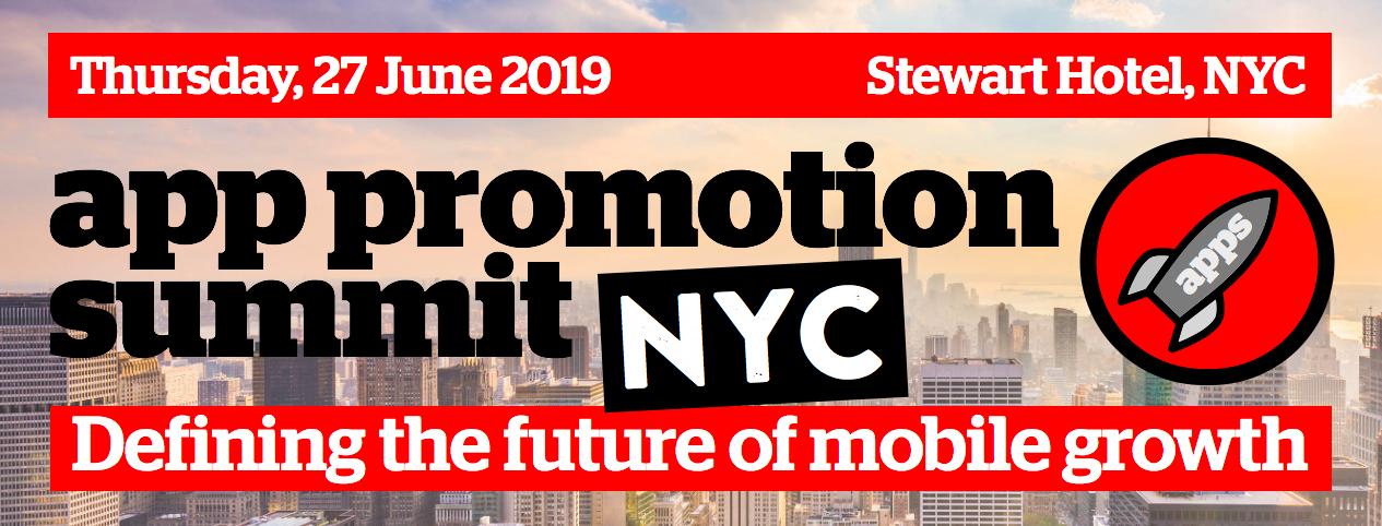 App Promotion Summit NYC 2019