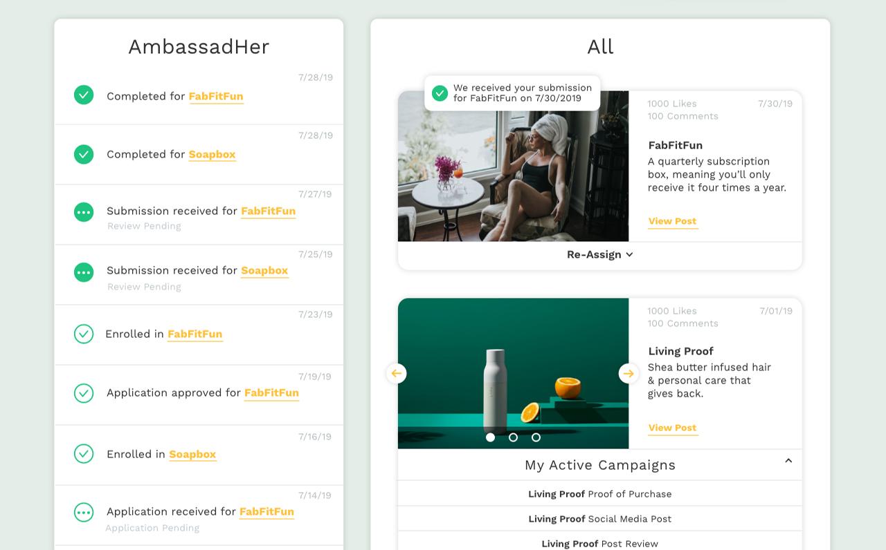 ambassadher - profiles