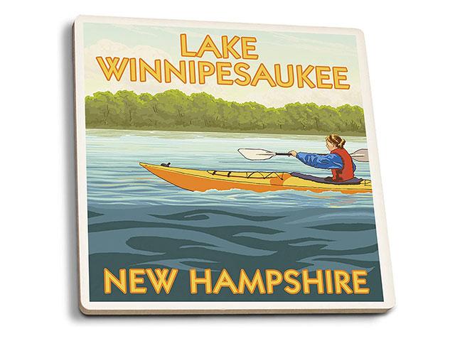 Lake Winnipesaukee Drink Coasters