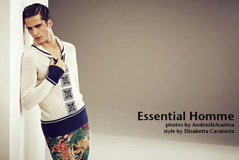 Elisabetta Cavatorta Stylist - Arantxa & Andoni - Essential Homme Usa
