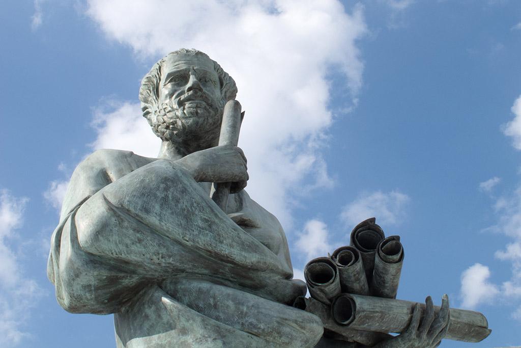 Aristotle the great greek philosopher